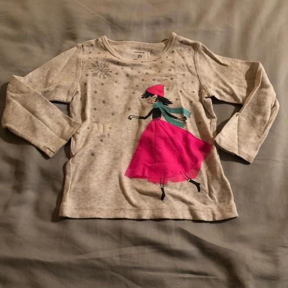 437b35cc4 Carter's Shirts & Tops   Toddler Girls Long Sleeve Shirt   Poshmark
